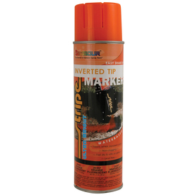 Shop Seymour 17 Oz Fluorescent Orange Flat Spray Paint At
