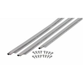 M-D Building Products 0.875-in x 7-ft Aluminum and Vinyl Door Weatherstrip
