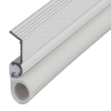 M-D Building Products 0.875-in x 7-ft White Aluminum and Vinyl Door Weatherstrip