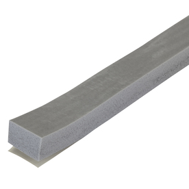 M-D Building Products 0.75-in x 10-ft Gray Closed-Cell Foam Window Weatherstrip