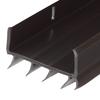 M-D Building Products 1.88-in x 3-ft Brown Vinyl Door Weatherstrip