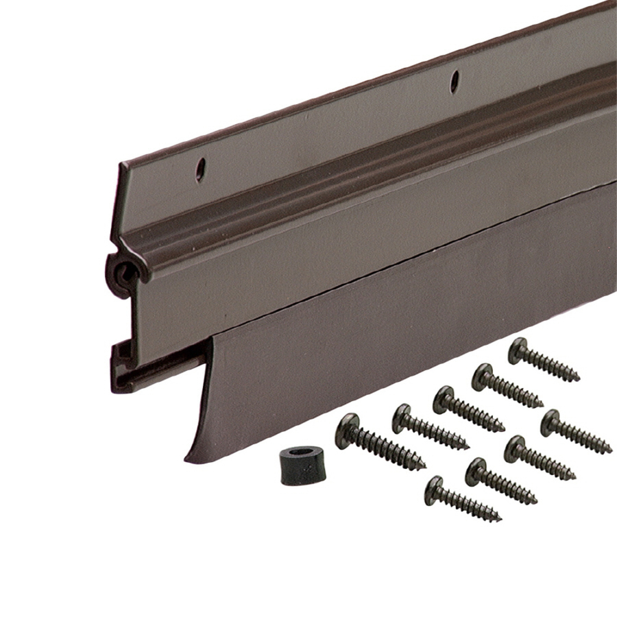 Shop M D Building Products 36 in Exterior Door Sweep At
