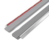 M-D Building Products 1/4-in x 3-ft Silver Aluminum Door Weatherstrip