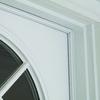 M-D Building Products .25-in x 3.5-ft White Aluminum Door Weatherstrip
