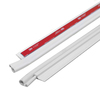 M-D Building Products .25-in x 3.5-ft White Aluminum Door Weatherstrip