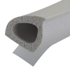 M-D Building Products 0.375-in x 17-ft White Silicone Epdm Thermalblend Rubber Window Weatherstrip