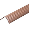 M-D Building Products 1-1/8-in x 1-1/8-in x 8-ft Stair Edging Fluted