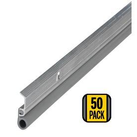 M-D Building Products 50-Pack 0.875-in x 7-ft Aluminum and Vinyl Door Weatherstrips