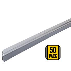 M-D Building Products 2-in x 38-ft Aluminum  and Vinyl Door Weatherstrip