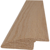 Style Selections 2-in x 78-in Unfinished Oak Reducer Floor Moulding