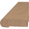 Style Selections 2-3/4-in x 78-in Unfinished Oak Stair Nose Moulding