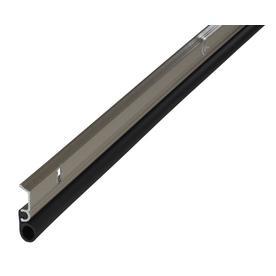 M-D Building Products 0.875-in x 7-ft Satin Nickel Aluminum and Vinyl Door Weatherstrip