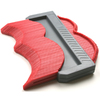 Tile Solutions 4-in Red/Grey Plastic Contour Gauge