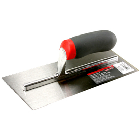 Precision Components 1/16-in x 1/16-in x 1/16-in Square Notch Flooring Trowel
