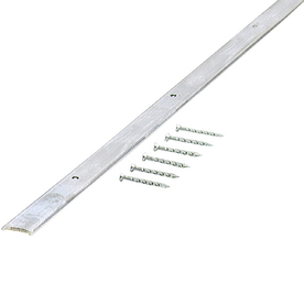 M-D Building Products 72-in L x -3/4-in W Silver Carpet Edging Trim