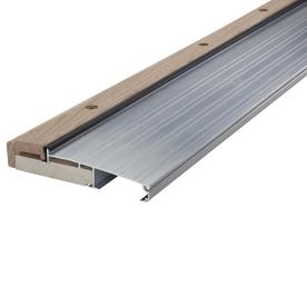 ... Products 36-1/8-in L x 5-5/8-in W Aluminum and Hardwood Door Threshold