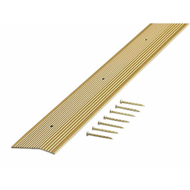 "M-D Building Products 72""L x 2""W Carpet Edging Trim"