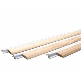 M-D Building Products 2-in x 7-ft White Hardwood and Vinyl Clad Foam Door Weatherstrip
