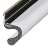 M-D Building Products 1-in x 6.75-ft White Vinyl Clad Foam Door Weatherstrip