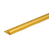 M-D Building Products Carpet Gripper Stnd Hammered 96-in Stn Brass