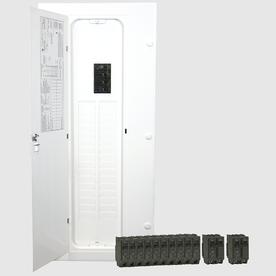 GE 32-Circuit 40-Space 200-Amp Main Breaker Load Center (Value Pack)