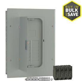 GE 12-Circuit 22-Space 100 Amp Main Breaker Load Center (Value Pack)