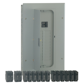 GE 20-Circuit 20-Space 100-Amp Main Breaker Load Center (Value Pack)