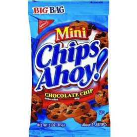 Nabisco 3-oz Mini Chips Ahoy Cookies