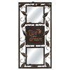 MCS Industries 10-in x 20-in Oil Rubbed Bronze Rectangular Framed Mirror