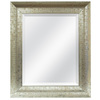 MCS Industries 20.5-in x 24.5-in Champagne Rectangular Framed Mirror