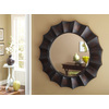 allen + roth 29.875-in x 29.875-in Oil Rubbed Bronze Beveled Round Framed French Wall Mirror