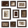 MCS Industries 9-Pack At Home Style 4-in x 6-in Espresso Picture Frame