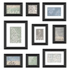 MCS Industries 9-Pack At Home Style Black Picture Frames (Common: 4-in x 6-in; Actual: 20.25-in x 14-in)