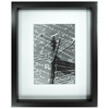 Black Picture Frame (Common: 8-in x 10-in; Actual: 9-in x 11-in)