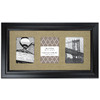 Espresso Picture Frame (Common: 11-in x 17-in; Actual: 24-in x 13.75-in)