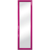 Raspberry Wine Rectangle Framed Wall Mirror