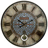 MCS Industries 24-in Pendulum Clock