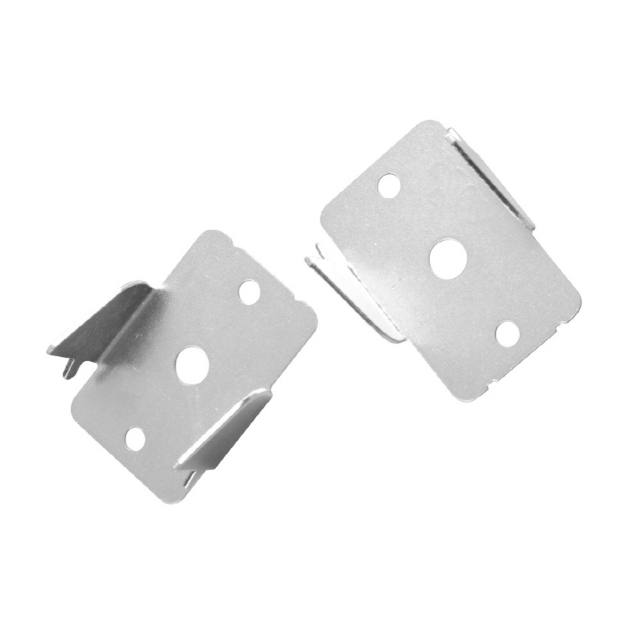 project source 2 pack metal double curtain rod brackets at