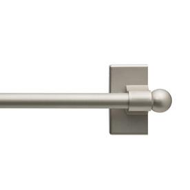 Shop Style Selections 16 In To 28 In Plastic Magnetic Curtain Rod At