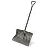 Suncast 20-in Poly Snow Shovel with 51-in Steel Core Handle