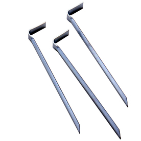 Suncast 3-Pack 9-in Galvanized Steel Edging Stakes