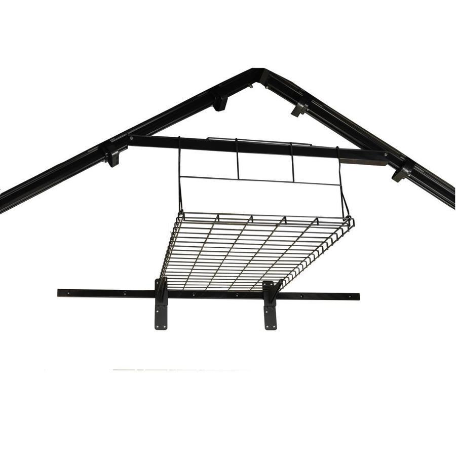 Shop Suncast Black Powder-Coated Metal Storage Shed Shelf at Lowes.com