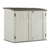 Suncast 53-in x 32-1/4-in x 45-1/2-in Vanilla Resin Outdoor Storage Shed