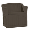 Suncast 20.75-in W x 30.675-in L Patio Bench