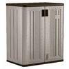 Suncast 30-in W x 36-in H x 20.25-in D Plastic Freestanding Garage Cabinet