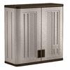 Suncast 30-in W x 30.25-in H x 12-in D Plastic Wall-Mount Garage Cabinet