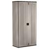Suncast 40-in W x 80.25-in H x 20.25-in D Plastic Freestanding Garage Cabinet