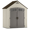 Suncast Covington Gable Storage Shed (Common: 7-ft x 4-ft; Actual Interior Dimensions: 6.84-ft x 3.67-ft)