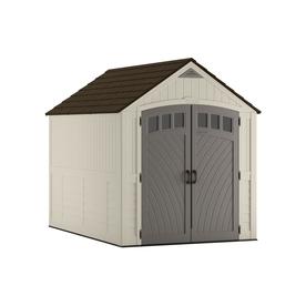 suncast covington gable storage shed common 7 ft x 10 ft