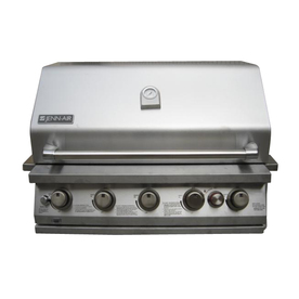 Jenn-Air 5-Burner (50000 BTU) Liquid Propane and Natural Gas Grill with Rotisserie Burner